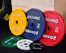 china cheap commercial competition steel cast iron rubber barbell weight lifting barbell plates