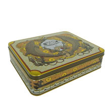empty custom design gift chocolate apparel packaging tin boxes
