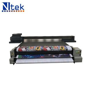 Industrial ink jet hybrid 3D UV flatbed printer