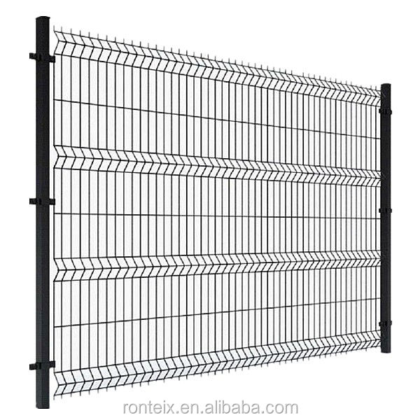 Powder Coated Security Customizable Safety Welded Wire Mesh Fence