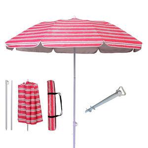 Parasol Protection Ultraviolet-proor Adjustable Outdoor Parasol Sun Shade Fishing Beach Patio Umbrella With Tilting Tilt