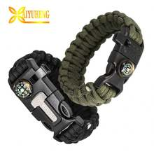 550Lb 7 Inner Paracord Bracelet For Outdoor Camping And Hiking Survival