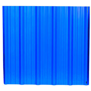 Factory price PVC roofing sheet white/ blue ridge tile guangzhou clay roof tile