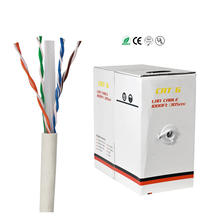 23AWG PVC Jacket Bulk Ethernet Cable 1000ft 305M UTP Network Cable Cat6