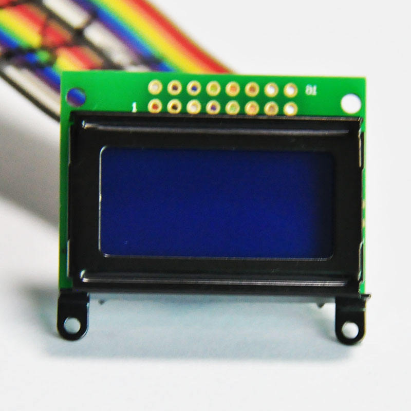 8x2 STN Character Disply Reflective 6 o'clock LCD Display Module
