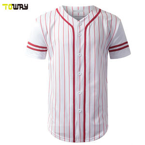striped baseball jersey custom sublimation pattern