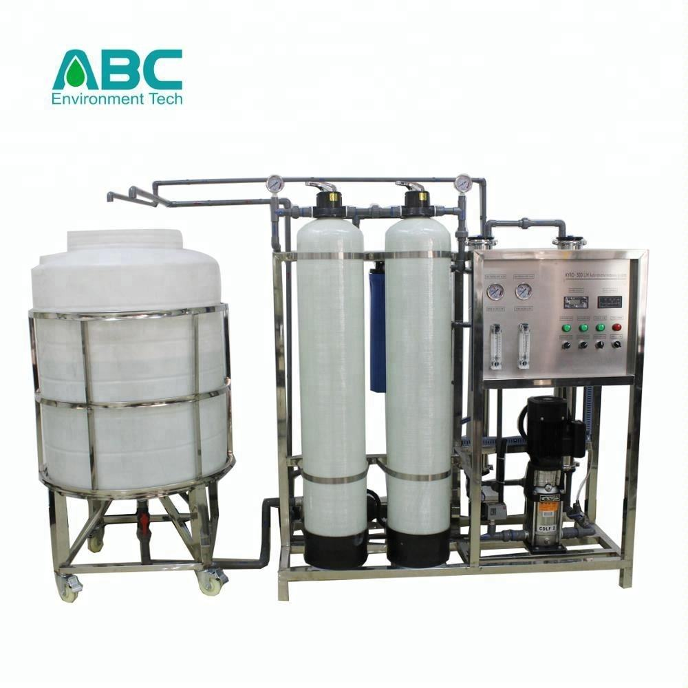 best sale 500L/H industrial standard specification complete unit RO deionized water filtration treatment system easily control