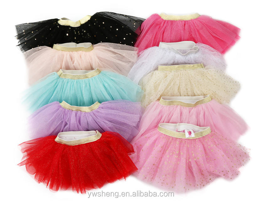 Tutu Manufacture Fashion classical glitter ballet dance tutu ballet costume for baby girls