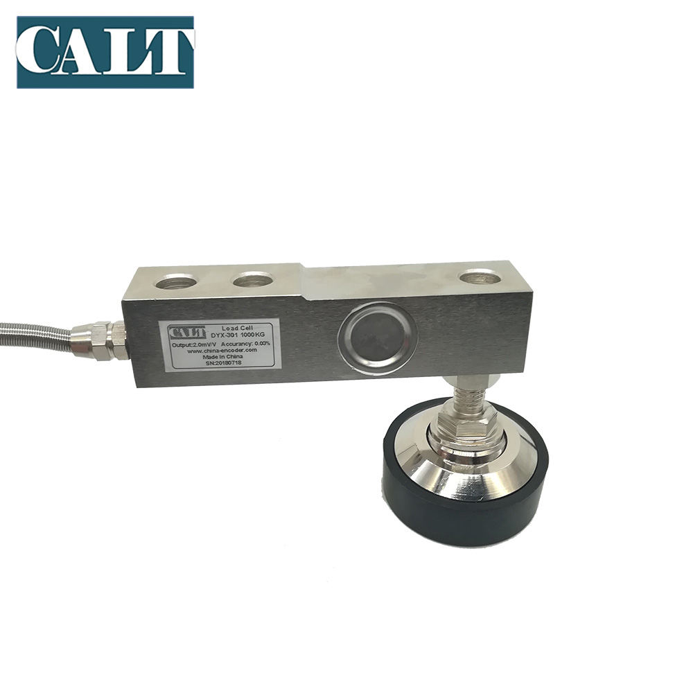 High quality 5000kg 5 ton shear beam load cell weight sensor with support leg