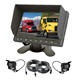 7inch Touch Button Rear View Monitor System