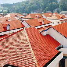 High quality fireproof residential roof building materials roof asa synthetic resin roof tile