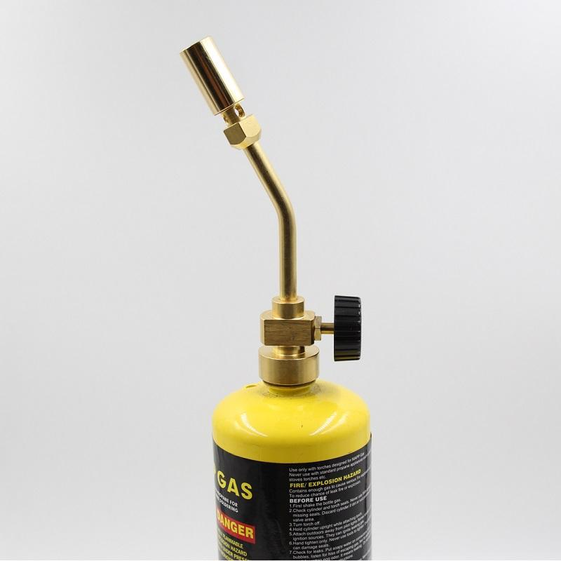 BRASS TORCH MAPP GAS TORCH BRAZING TORCH SELF IGNITION LASER FLAME BLOW LAMP TURBO BRAZING GHA-700