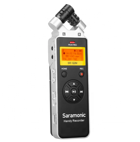 Saramonic SR-Q2M palmare audio <span class=keywords><strong>recorder</strong></span> (in metallo)