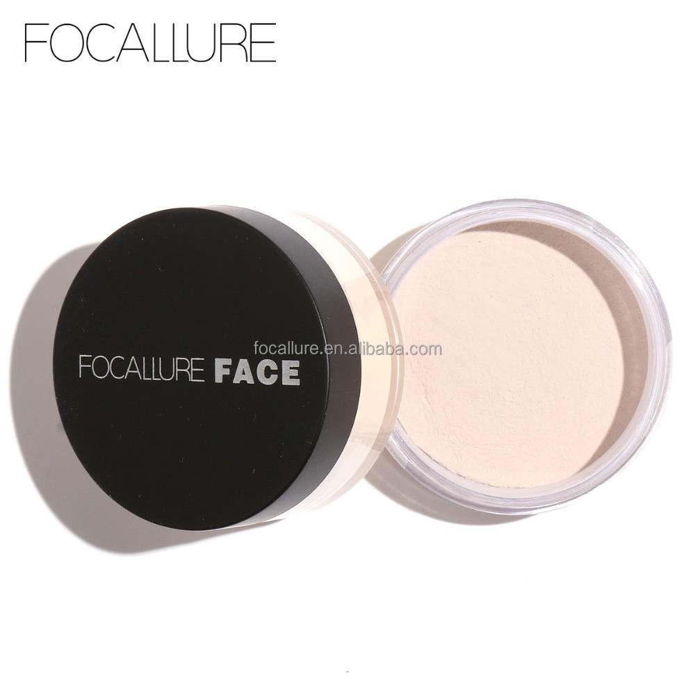 Focallure Hot Sale Cosmetics Loose Foundation Powder Mineral Makeup Sunscreen