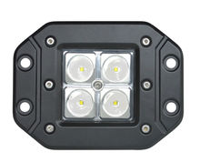 "4*high power led 16W 24V Flush mount 3"" Cube LED Lights Spot Beam Auto SUV Driving Fog Lamp Working Spot Light off road Truck"