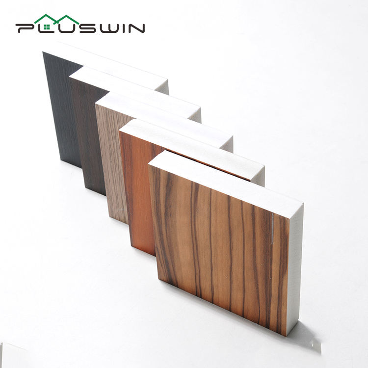 Wood Grain Pvc Sheet Laminated PVC Foam Board