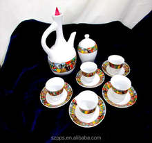 Traditional Art Ethiopian Jebena Coffee Set sheba coffee cups set 15