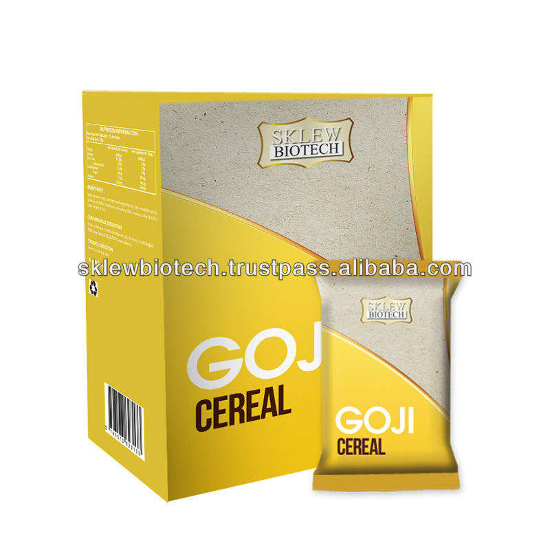 Goji - cereali private label/oem