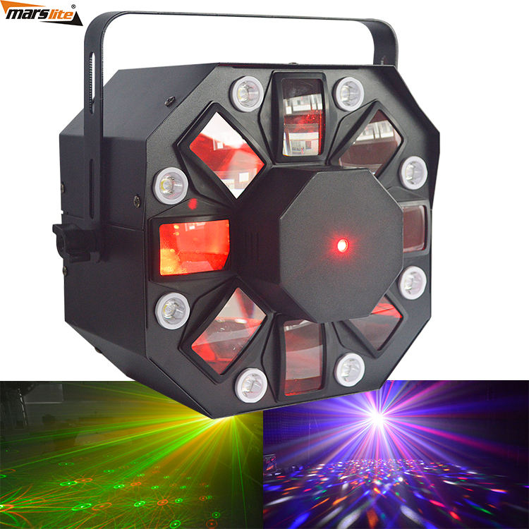 35 w licht prijs DJ night club party 3in1 gecombineerde effect laser strobe LED laserlicht