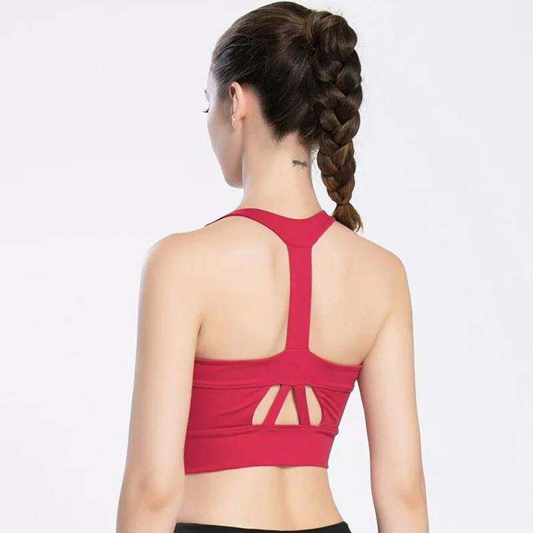 Most popular unique design chinese skilled lady sportswear yoga wear red whit