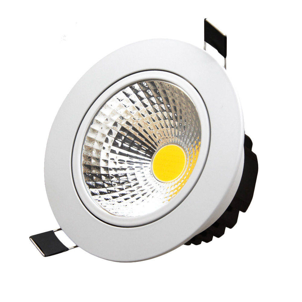 Newest IP44 10W Driverless Dimmable Ceiling Recessed Cob Led Downlight