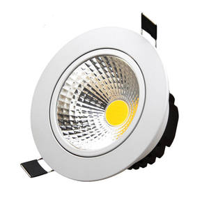 הכי חדש IP44 10 W Dimmable ללא נהג תקרת קלח שקוע Led Downlight