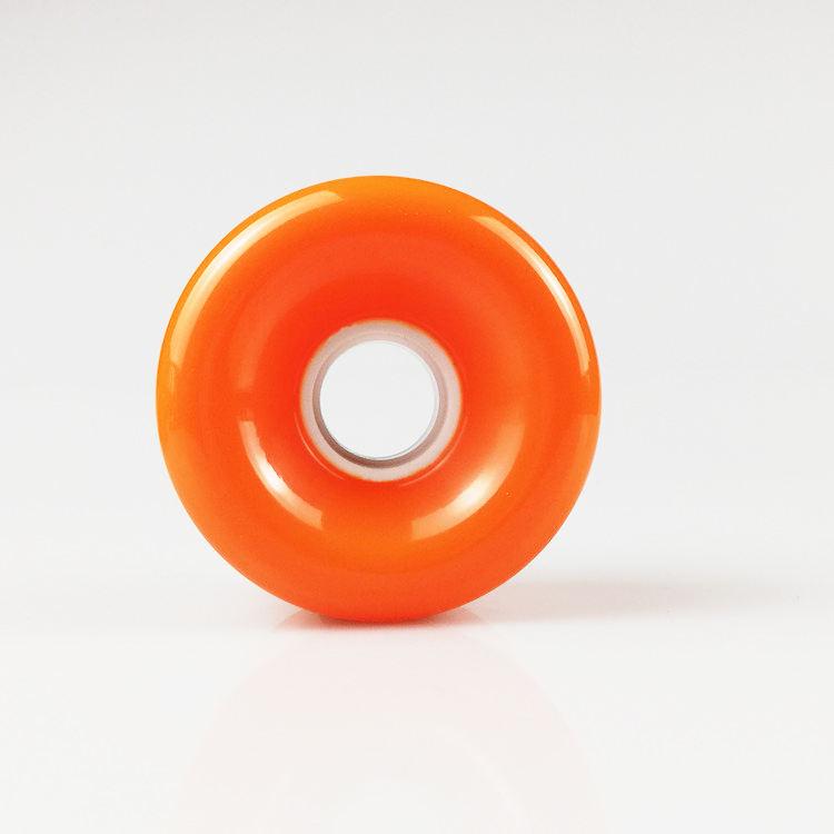 Alta rebote 78A de 70mm de poliuretano tabla larga ruedas para bailar y ruedas deslizantes