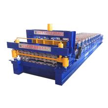 High quality metal stud machine manufacturer glazed tile forming double layer roll making equipment
