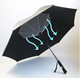 New car promotion advertising umbrella wholesale waterproof support USB power bank umbrella with fan inside