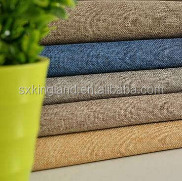 For Curtain Blackout Fabric 100% Polyester Linen Look 280cm Width Customised Woven Plain Customized Color Sofa,home Textile 800m