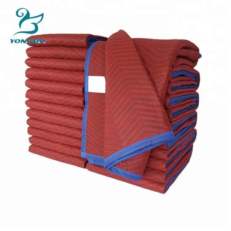 Cheap professinal quality furniture protect moving blankets