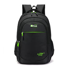 Multi-functional Large-capacity Material Oxford Casual Solid Color Simple Bag Man's Backpack Student Schoolbag