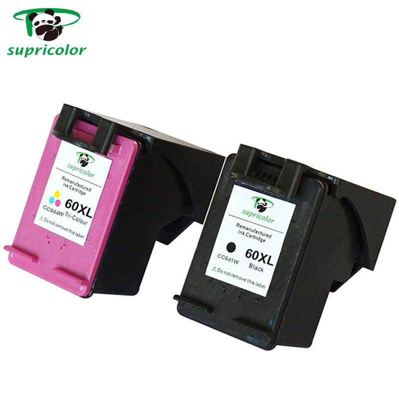Remanufactured ink cartridge for hp cc640w(60)