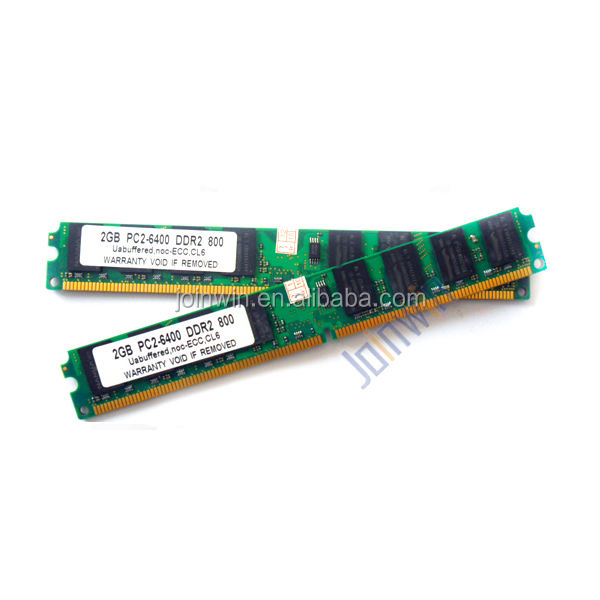 Used computer parts ram memory cheap 2gb dimm ddr2 800