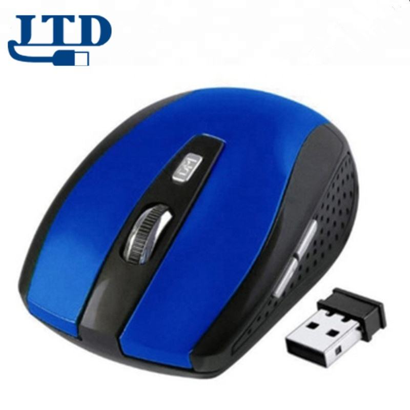 Factory sell good price 2.4GHz Wireless Optical Mouse With USB 2.0 Receiver