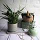 Balcony patio indoor outdoor decoration orchid plant garden pot home goods ceramic planters for live plants
