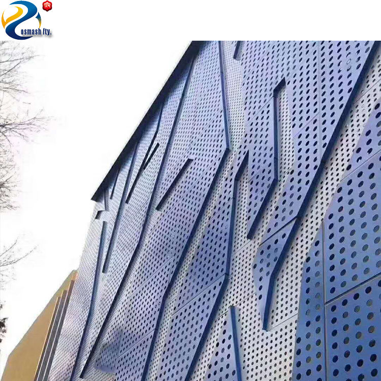 Best price perforated sheet metal building facade
