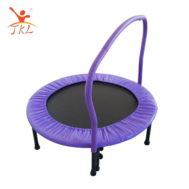 Baby toddler toy mini fitness trampoline with armrests