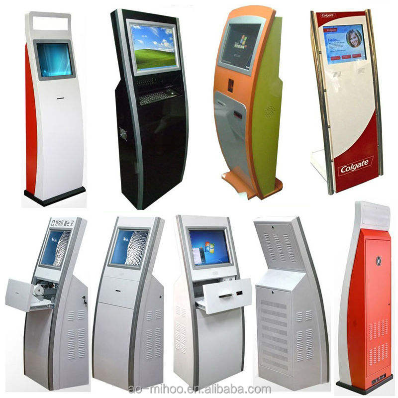 Demand machine met cash acceptor kiosk