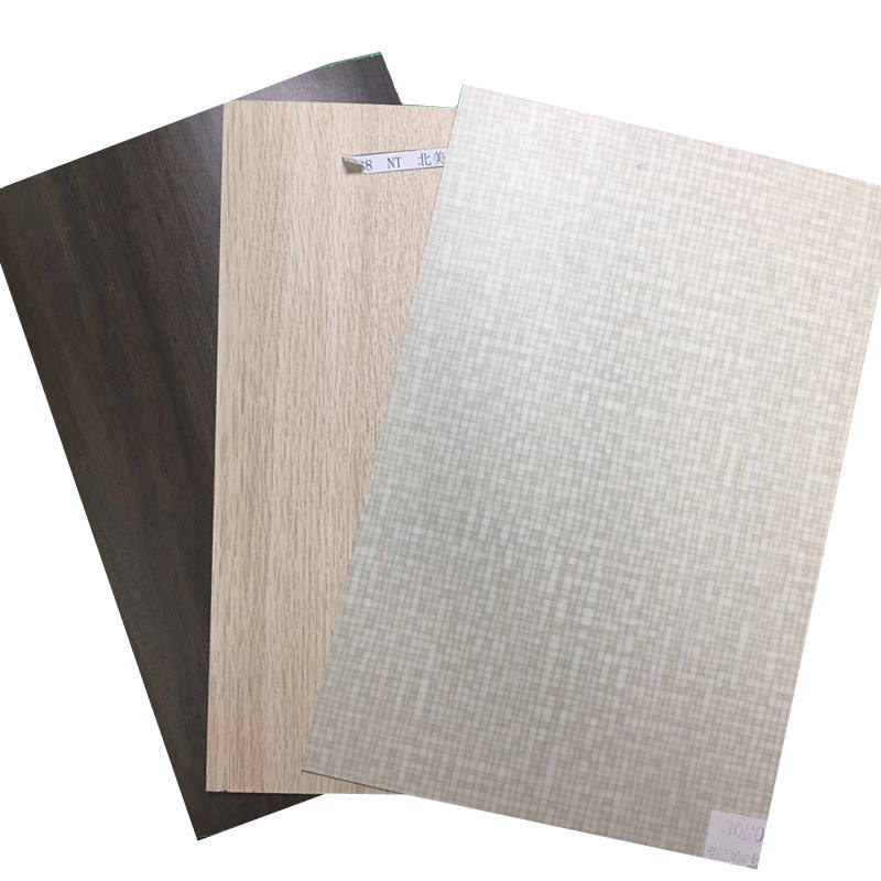 1,0mm color de madera HPL laminado hoja con superficie mate