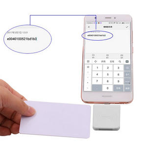Android Mobile Phone Micro Mini USB NFC 13.56mhz RFID Reader Writer