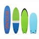 China Manufacturers 2020 New Design Softtop Durable Soft Top Epoxy Surfboard