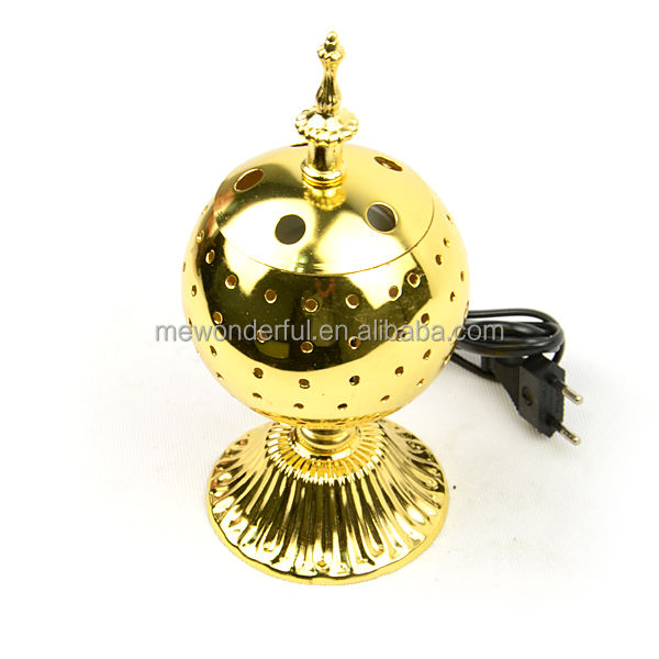 wholesale hot sell arabic electric incense burner with lid