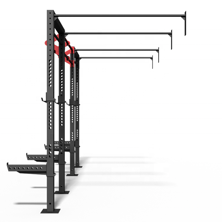 Max Belasting 1000lb wall mount fitness gym rack systeem