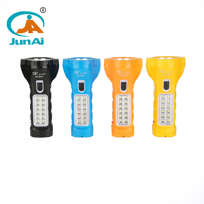 12 SMD camping flashlight mini emergency flashlight JA-1913
