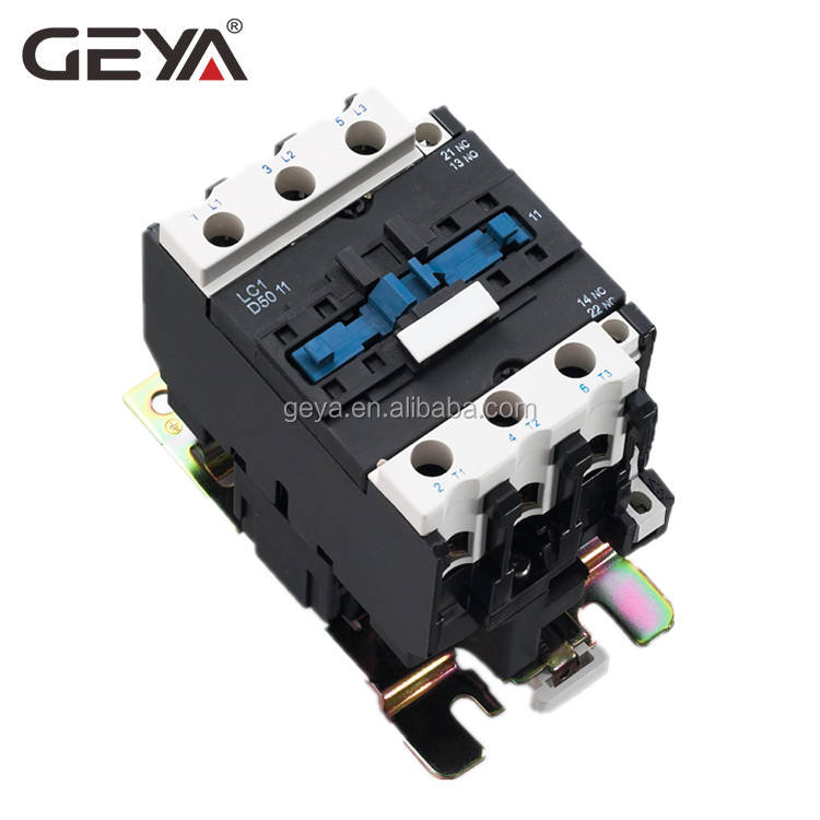 GEYA Contactor Supplier Factory Cheapest Price Contactor LC1 CJX 3TF 50A AC Contactor DC