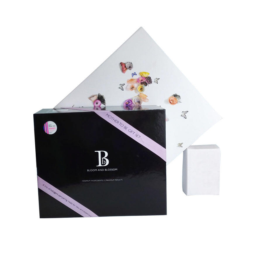 Deluxe paper gift box hamper box