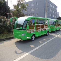 very cool 14 Passengers electric Sightseeing Bus