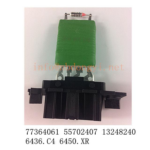 Heater Blower Resistor C4 Picasso Expert III Partner III 9654652480