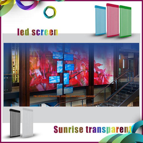Super léger transparent maille led <span class=keywords><strong>cricket</strong></span> affichage en direct écran pour la construction extérieure décoration
